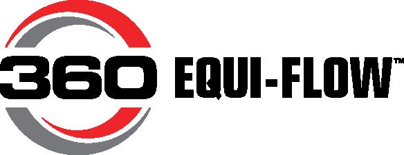 360 EQUI-FLOW<sup>™</sup> logo